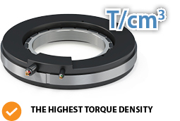 feature highest  torque density