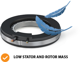 feature low stator mass