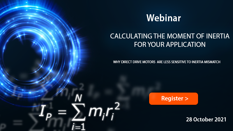Webinar-Calculating the moment of inertia for your application